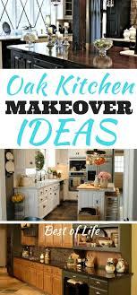 oak kitchen cabinet makeover ideas oak kitchen makeover ideas 11 kitchen remodeling ideas
