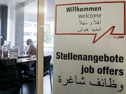 despite early optimism german companies hire few refugees