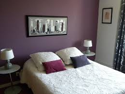 modern chambre couleur aubergine et gris taupe blanc ivoire a