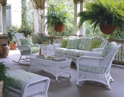 White Patio Furniture Set Treatment White Wicker Patio Furniture Furniture Ideas And Decors