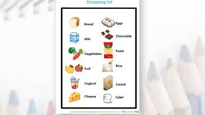 younger kids activity shopping list essential kids