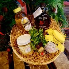 michigan gift baskets northern michigan gift basket 1 localharvest