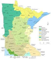 map mn watershed maps minnesota pollution agency