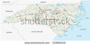 road map of south carolina carolina map stock images royalty free images vectors
