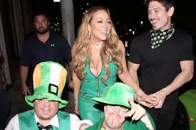 mariah carey celebrates irish roots as she parties with