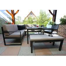 canapé jardin salon de jardin kettler océan canapé d angle table banc