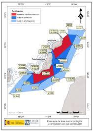 Canary Islands Map Wwf Action Platform Por Un Santuario De Ballenas En Canarias