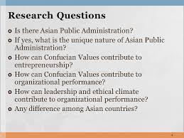 tutorial questions on entrepreneurship confucian values entrepreneurship and organizational performance