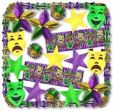 mardis gras decorations mardi gras decorations mardi gras theme decorating kits with