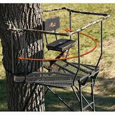 big 16 ultra view dx ladder tree stand 203940 ladder