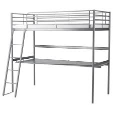SVÄRTA Loft Bed Frame With Desk Top IKEA - Ikea bunk bed assembly instructions