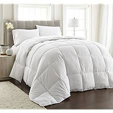 How To Wash A Comforter Amazon Com Superior Solid White Down Alternative Comforter Duvet