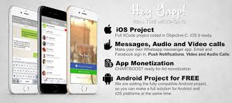 whatsapp free for android buy hey yapp whatsapp app template ios android chat and