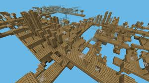 Mpce Maps Shaft Pvp Battle In A Mineshaft In The Sky Mcpe Maps