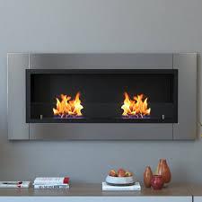amazon com moda flame valencia pro wall mounted ethanol fireplace