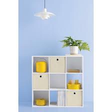 White Cube Bookcase 9 Cube Organizer Shelf 11