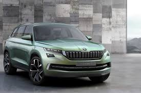 skoda kodiaq interior the motoring world powerful exterior with distinct 3 dimensional