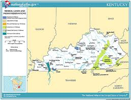 Kentucky national parks images Kentucky national parks map map gif
