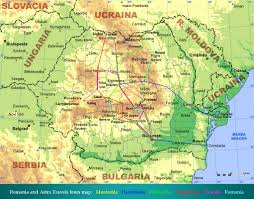Romania Map Astro Travels Surprising Romania Traditions And Culture