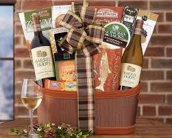 California Gift Baskets Barrel Hoops Wine Co California Assortment Gift Basket At Wine