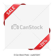 ribbon sale vector clip of sale ribbon vector illustration of a sale