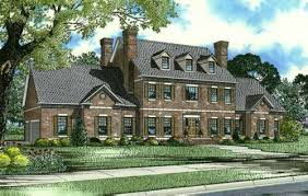 2 story colonial house plans colonial style house plans 4996 square foot home 2 story 3
