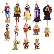 of snow white limited edition hanging ornaments set of 13