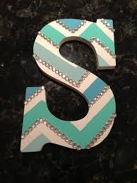 best 25 chevron wooden letters ideas on pinterest canvas