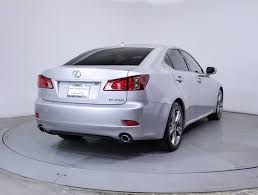 lexus is for sale miami used 2013 lexus is 250 sedan for sale in miami fl 84890