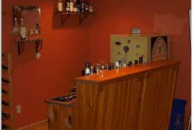 bar impressive basement bar ideas for small spaces with basement