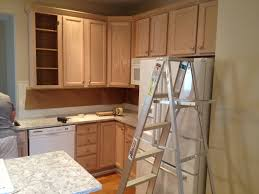 Refinish Wood Paneling Dining U0026 Kitchen White Wash Pickling Stain Pickled Oak Cabinets