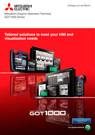 got1000 mitsubishi electric automation pdf catalogue