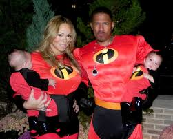 Family Of 7 Halloween Costumes by The Whole Family Mariah Nick Moroccan And Monroe Got Dressed Up