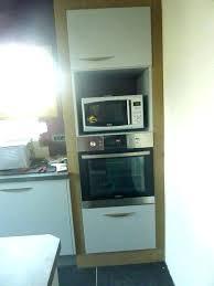 meuble four cuisine meuble cuisine colonne four micro onde hauteur colonne cuisine
