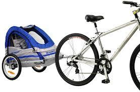 amazon com schwinn trailblazer single bike trailer blue gray