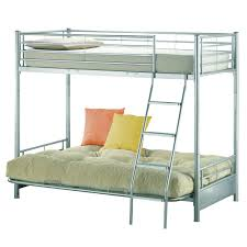 Bunk Bed With Futon On Bottom Bunk Bed With Futon Southbaynorton Interior Home