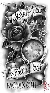 best 25 half sleeve tattoos with clocks ideas on pinterest half