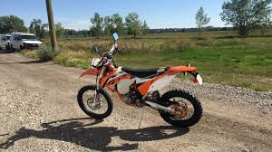motocross bikes road legal the ktm 500 exc why you want a road legal dirt bike