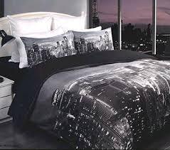 New York Bed Set New York City Skyline Bedding Set On The Hunt