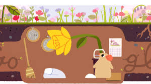 Colors Of Spring 2017 Spring Equinox 2017 Google Doodle Marks 1st Day Of Spring In The