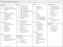 printable house cleaning schedule download house cleaning checklist free cleaning house cleaning