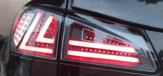 lexus isf vsc light 2006 lexus is250 is350 custom tail lights led bars ebay isx youtube