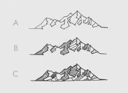 tattoo geometric outline mountain tattoo outline sketches tattooic