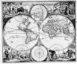 Map Of The World Black And White by Novusorbis Old Prints Etching Engravings Maps Pinterest