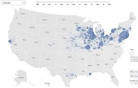interactive map of the us interactive map of immigrant settlement patterns in u s