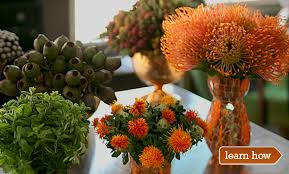 a contemporary thanksgiving flower arrangement thanksgiving