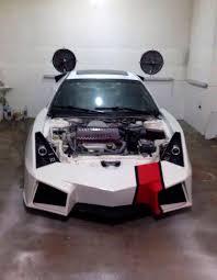 fake lamborghini replica kosovan sports car enthusiast builds a lamborghini replica