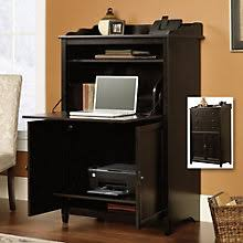 Computer Desk With Doors Computer Armoires Laptop Cabinet Desks W Doors Officefurniture