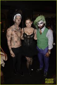 miguel looks super scary as the joker at just jared u0027s halloween