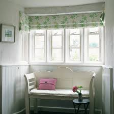 Bay Window Roller Blinds Design Ideas Decorating With Blinds Ideal Home